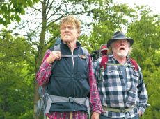 DF-04885 (l to r) Robert Redford stars as Bill Bryson and Nick Nolte as Stephen Katz in Broad Green Pictures upcoming release, A WALK IN THE WOODS. Credit: Frank Masi / Broad Green Pictures